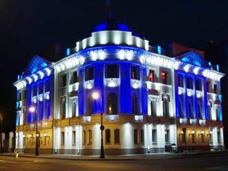 Иллюминация фасадов Киев