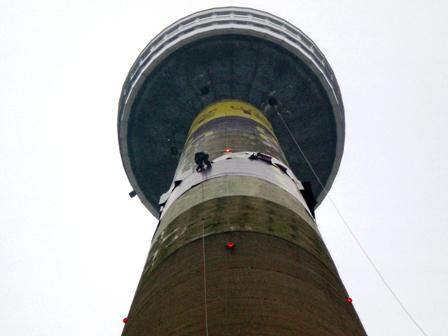 Обследование и ремонт высотных строений