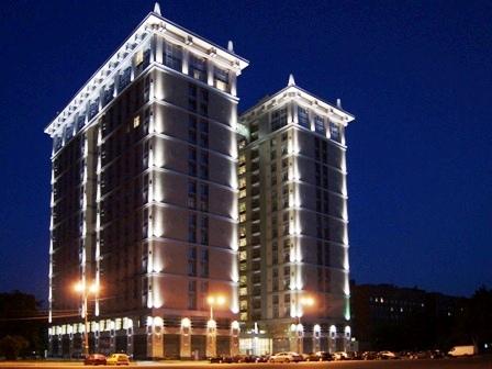 Декоративное освещение зданий