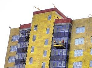 Теплоизоляция фасадов минватой