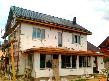 Металлическая панель для отделки фасадов