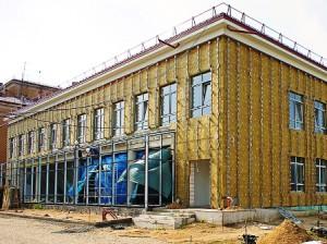 Утепление фасадов промышленных зданий