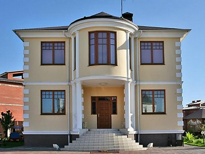 частный дом фасадные работы и утепление