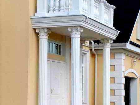 дизайн декоративные элементы на фасаде дома