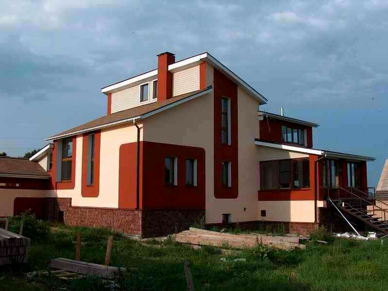утепление домов дизайн фасада