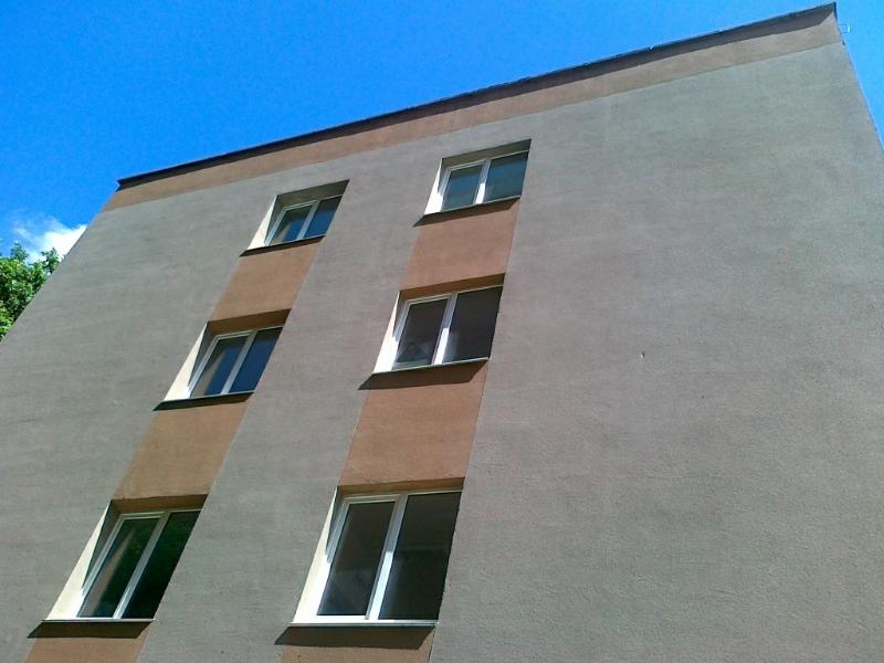 утепление фасада многоэтажки пенопластом