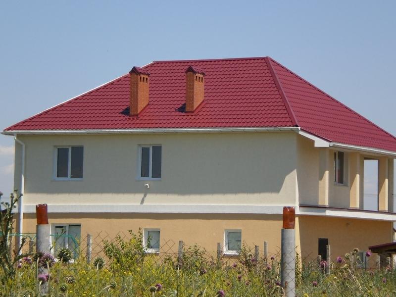 устройство крыши из металлочерепици