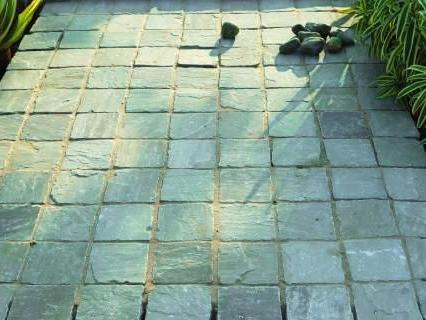 каменная брусчатка укладка в киеве