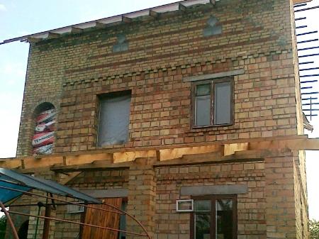 монтаж кровли на террасу частного дома