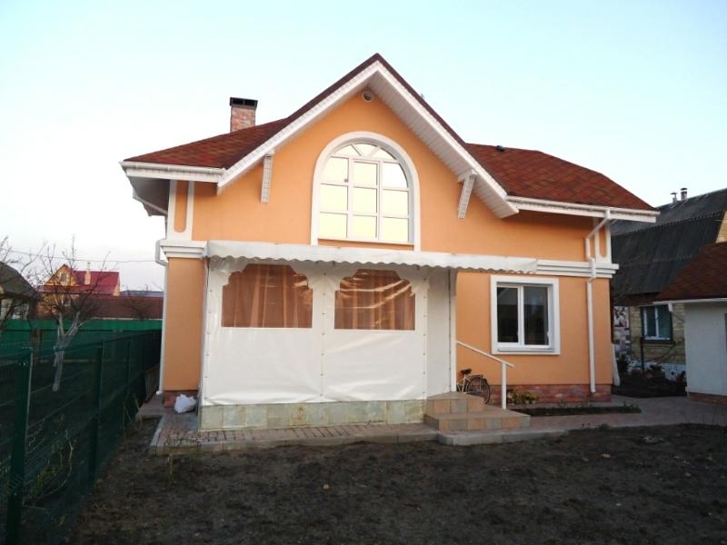 монтаж террасы после утепления дома