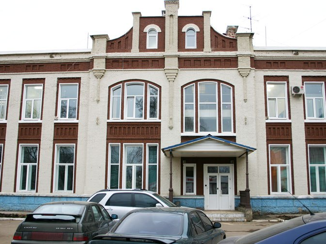 фасад дома после реставрационных работ