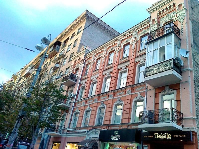 отделка фасада дома ул. Б. Васильковская