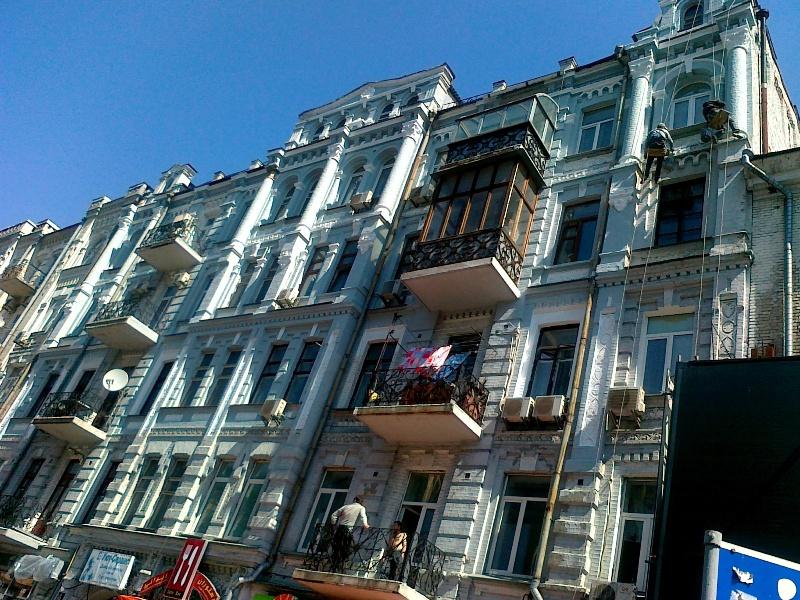 частный ремонт фасада на высоте