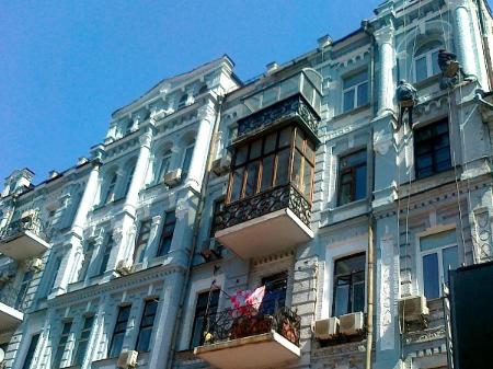 ремонт фасада услуги альпинистов, киев