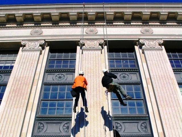 высотные работы реставрация фасада