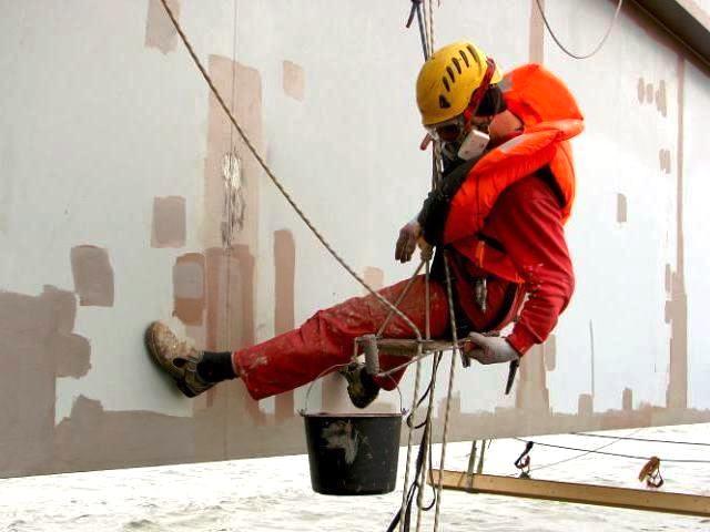 высотные работы покраска металлоконструкций