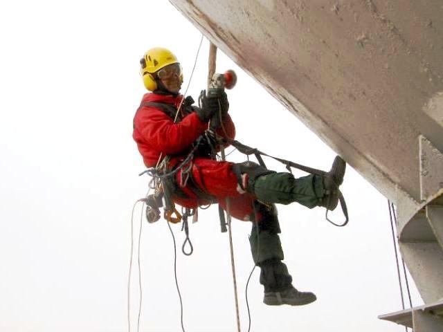 услуги альпинистов ремонт на производстве